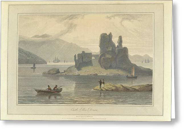 Castle Ellen Donan Greeting Card