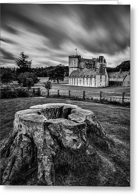 Castle Fraser Greeting Card by Dave Bowman