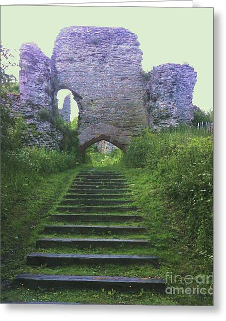 Greeting Card featuring the photograph Castle Gate by John Williams