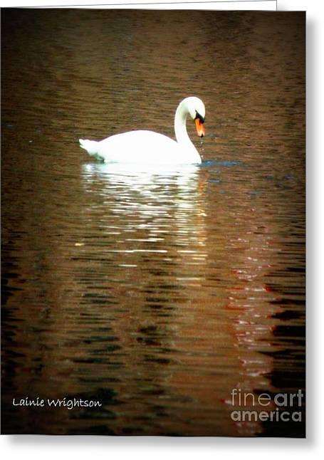 Castle Haar Swan Greeting Card