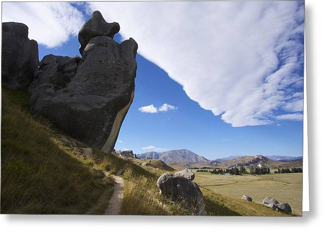 Greeting Card featuring the photograph Castle Hill #7 by Stuart Litoff
