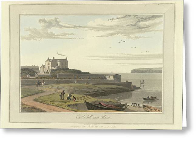 Castle Hill Near Thurso Greeting Card by British Library