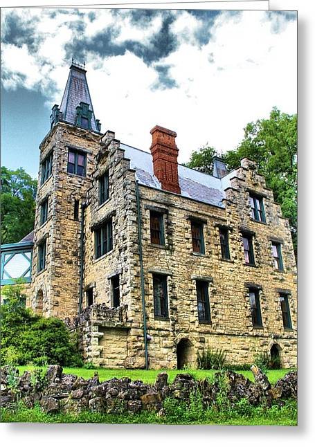Castle Living Greeting Card by Dan Sproul