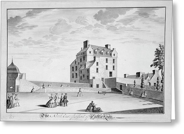 Castle Lyon Greeting Card by British Library