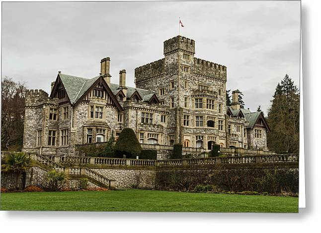 Hatley Castle Greeting Card