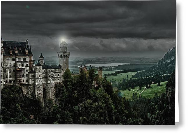 Castle Neuschwanstein II Greeting Card
