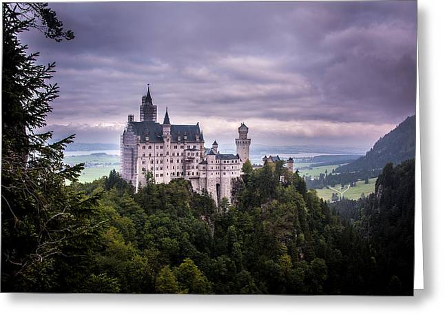 Castle Neuschwanstein Greeting Card