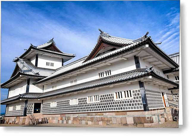Castle Of Japan Greeting Card