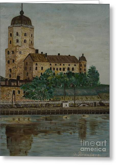 Castle Of Vyborg Greeting Card