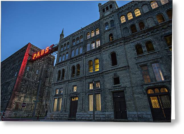 Castle Pabst Greeting Card