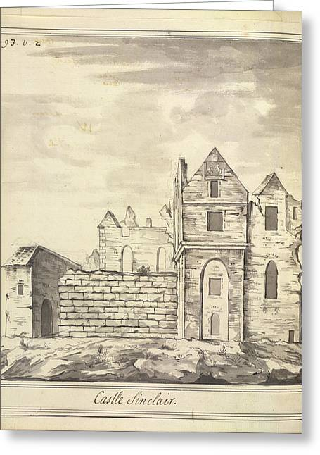 Castle Sinclair Greeting Card