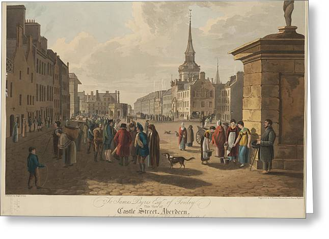 Castle Street Greeting Card by British Library
