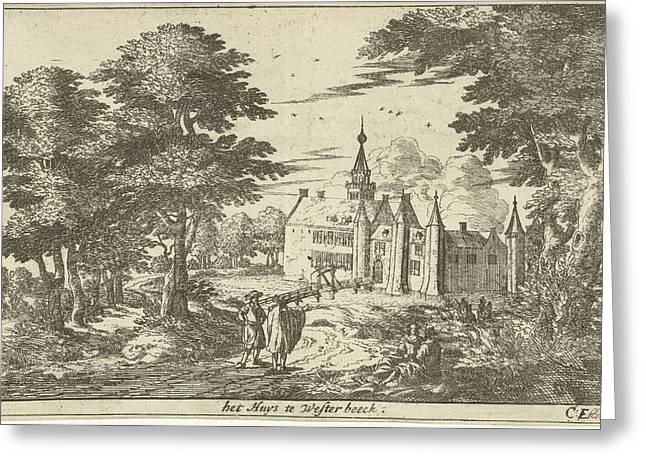 Castle Westerbeek, Cornelis Elandts Greeting Card