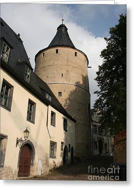 Castle Yard Greeting Card