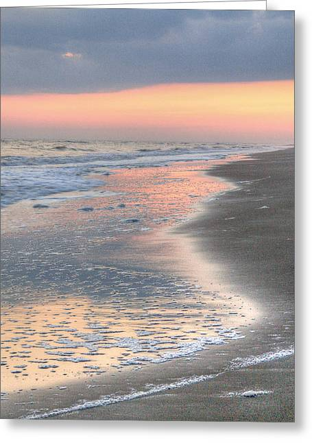 Caswell Beach. Greeting Card by JC Findley
