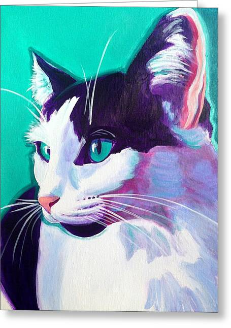 Cat - Kitty Greeting Card by Alicia VanNoy Call