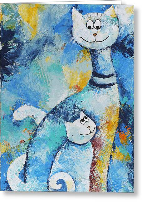 Cat Mommy Greeting Card