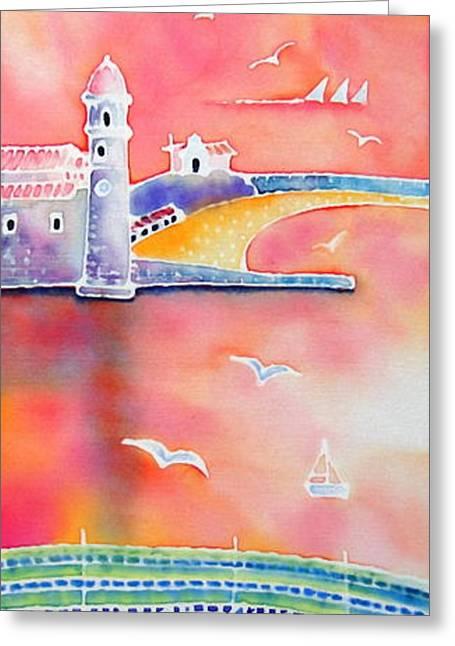 Catalan Sunset Greeting Card