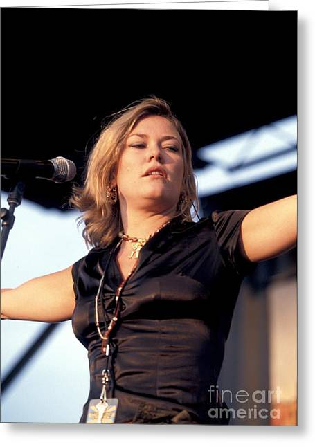 Catatonia Greeting Card by Concert Photos