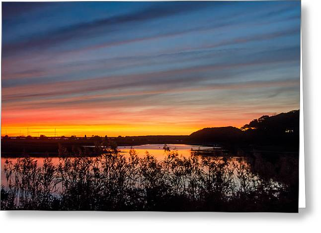 Cataumet Sunset Greeting Card