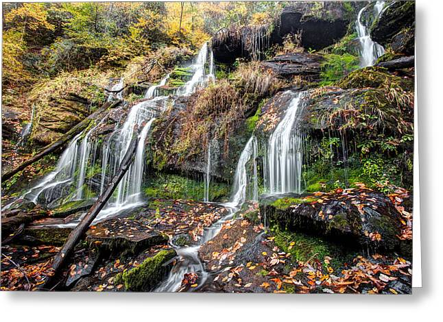 Catawba Falls Greeting Card by Scott Moore
