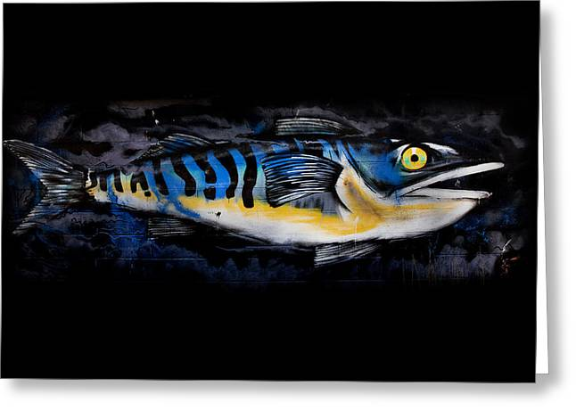 Catch Of The Day Greeting Card by Mark Rogan