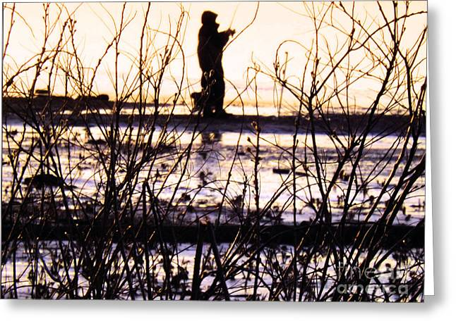 Greeting Card featuring the photograph Catching The Sunrise by Robyn King