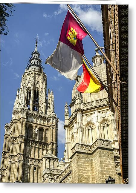Catedral De Santa Maria De Toledo Greeting Card