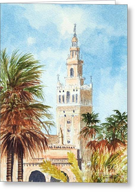Catedral De Sevilla Greeting Card