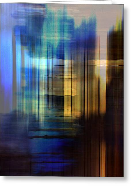 Cathedral 2 Greeting Card by Terence Morrissey