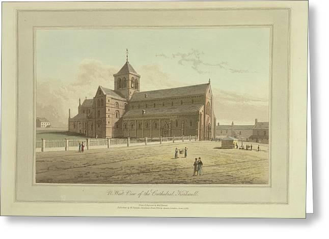 Cathedral At Kirkwall Greeting Card