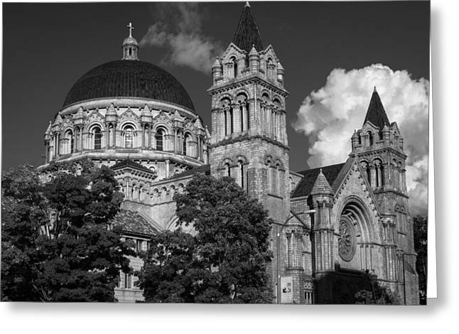 Cathedral Basilica Of St. Louis Greeting Card by Scott Rackers
