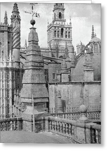 Cathedral, C1920 Greeting Card