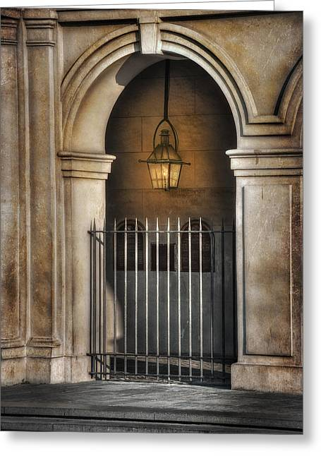 Cathedral Gate Greeting Card