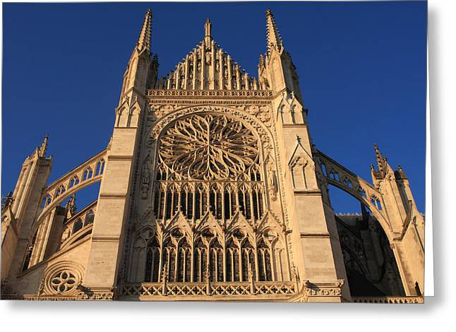 Cathedral In Evening Light Greeting Card