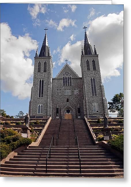 Cathedral In Midland Ontario Greeting Card by Marek Poplawski