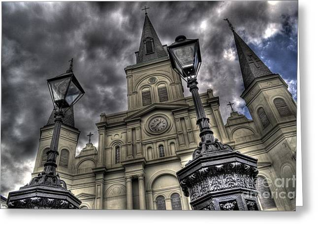 Cathedral New Orleans Greeting Card