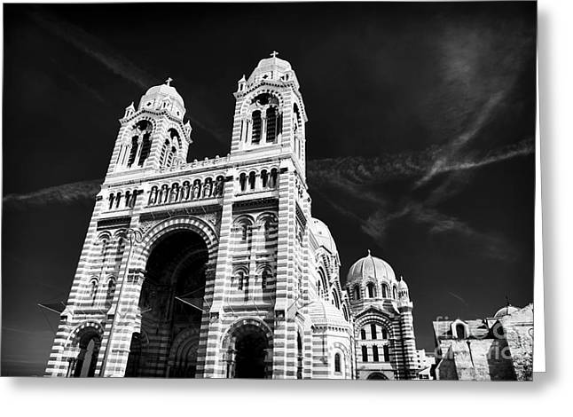 Cathedral Of Marseille Greeting Card
