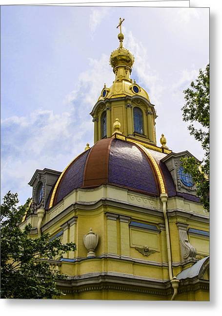 Cathedral Of Saints Peter And Paul Greeting Card