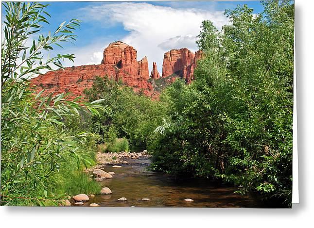 Cathedral Point - Sedona Arizona Greeting Card by Gregory Ballos