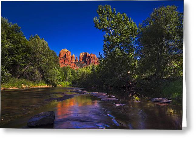 Cathedral Rock 2 Greeting Card