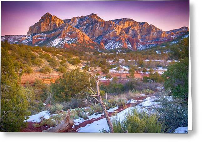 Cathedral Rock Sedona Greeting Card by Shanna Gillette