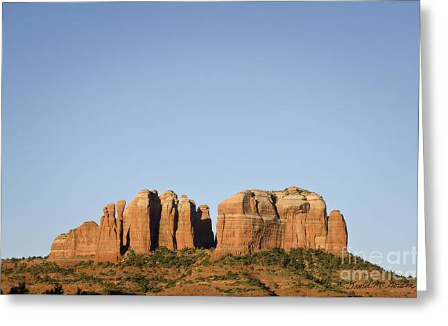 Cathedral Rock Vi Greeting Card by Dave Gordon