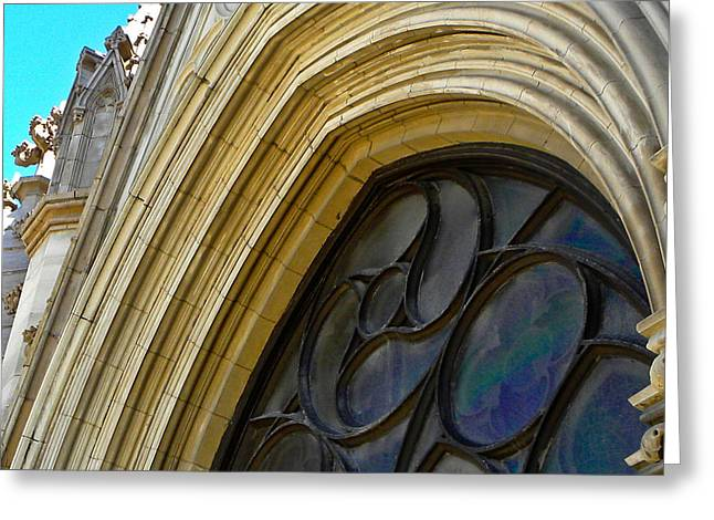 Cathedral Window Greeting Card