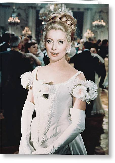 Catherine Deneuve In Mayerling  Greeting Card by Silver Screen