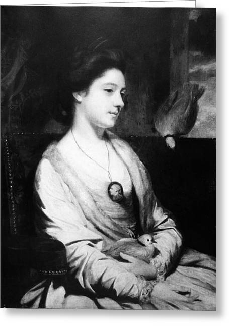 Catherine Maria Fisher (d Greeting Card by Granger