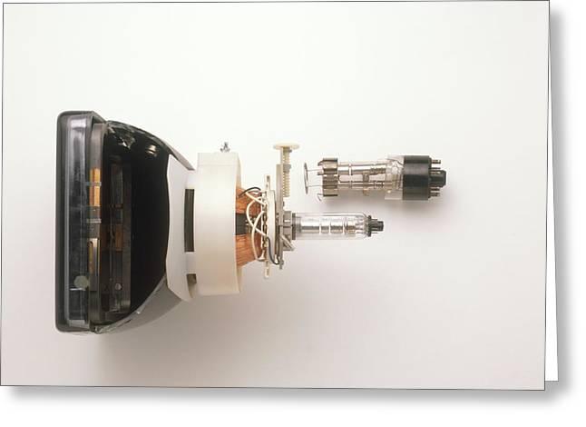Cathode Ray Tube Greeting Card by Dorling Kindersley/uig