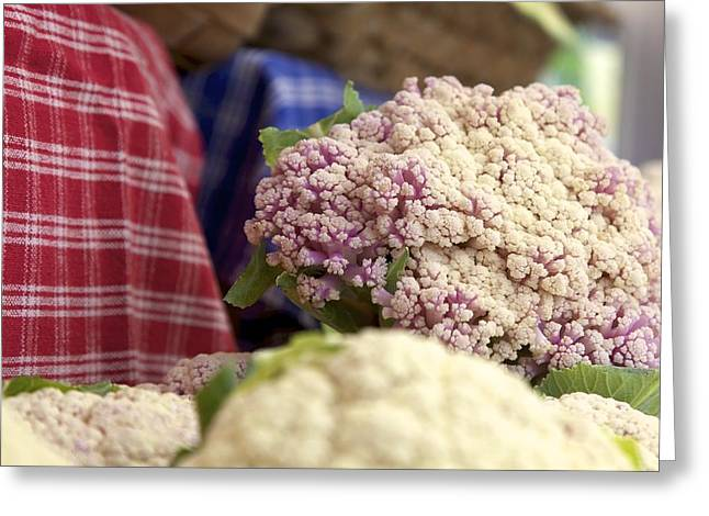 Cauliflower Greeting Card by Terry Horstman