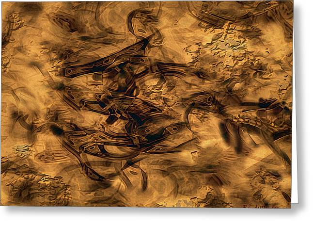 Cave Painting Greeting Card by RC deWinter