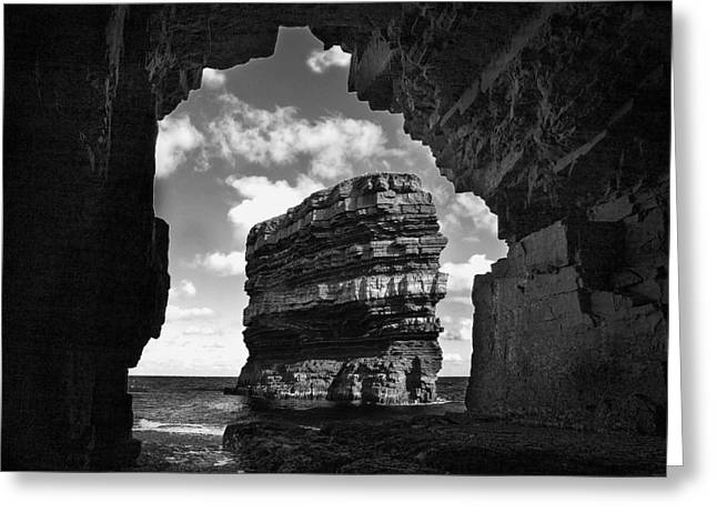 Cave With A View Greeting Card by Tony Reddington